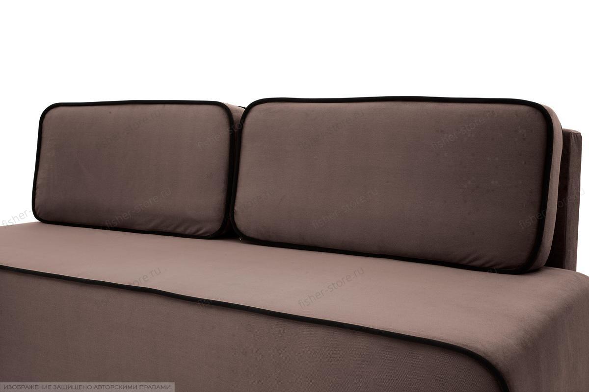 Прямой диван Лаки Amigo Chocolate Подушки