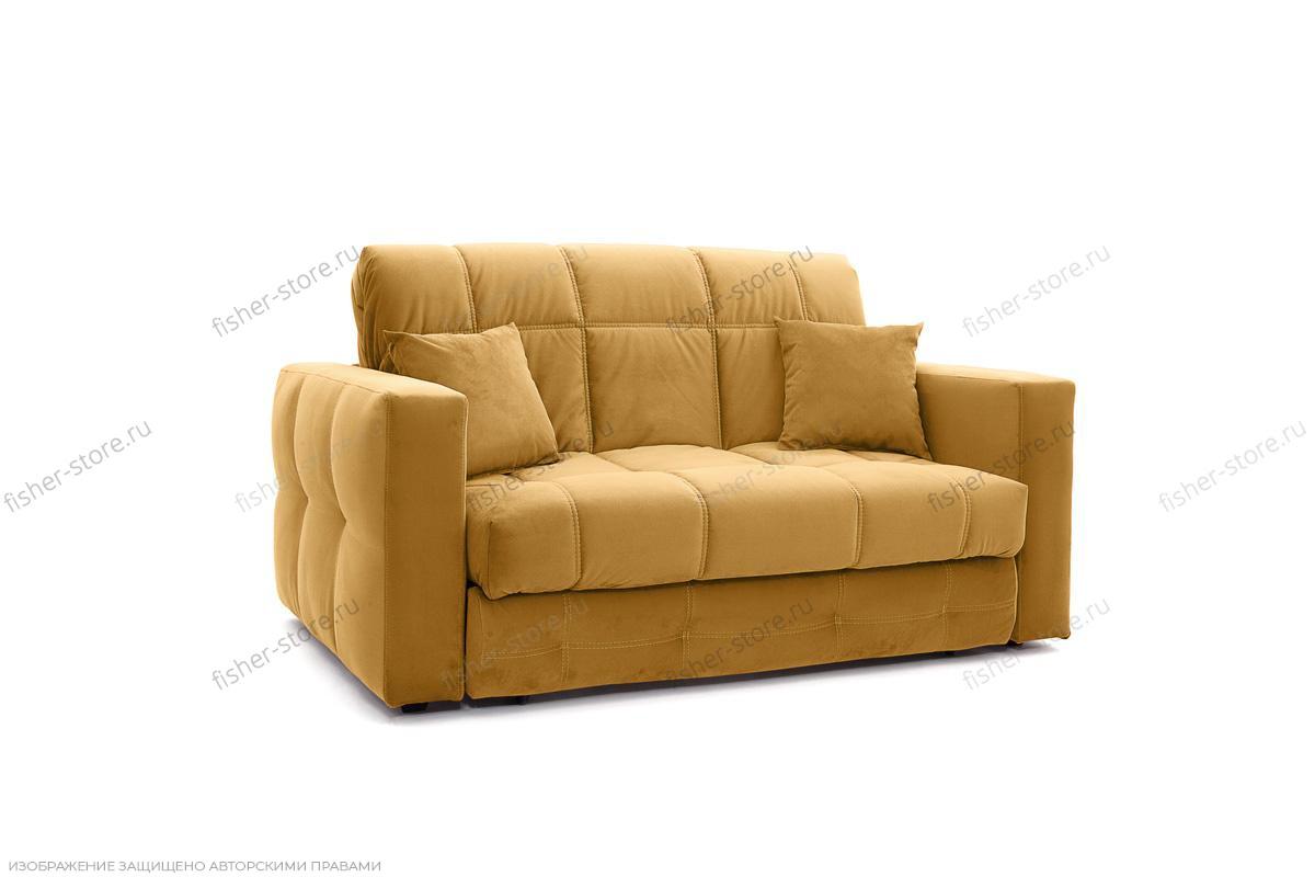 Двуспальный диван Ява Amigo Yellow Вид по диагонали
