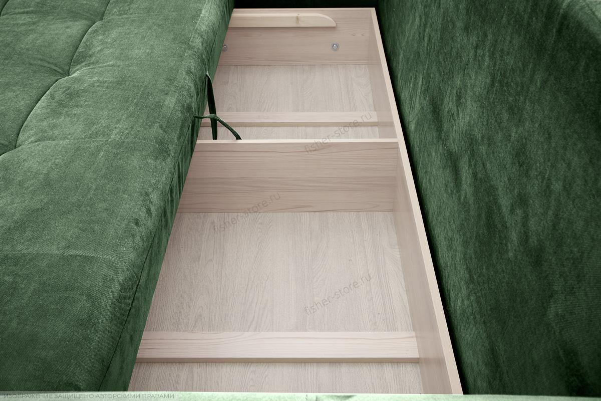 Прямой диван Кайман Amigo Green Ящик для белья