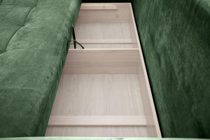 Двуспальный диван Кайман Amigo Green Ящик для белья