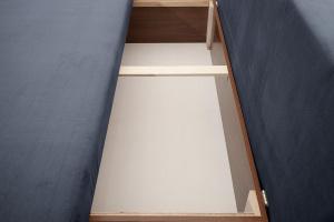 Прямой диван Лаки Amigo Navy Ящик для белья