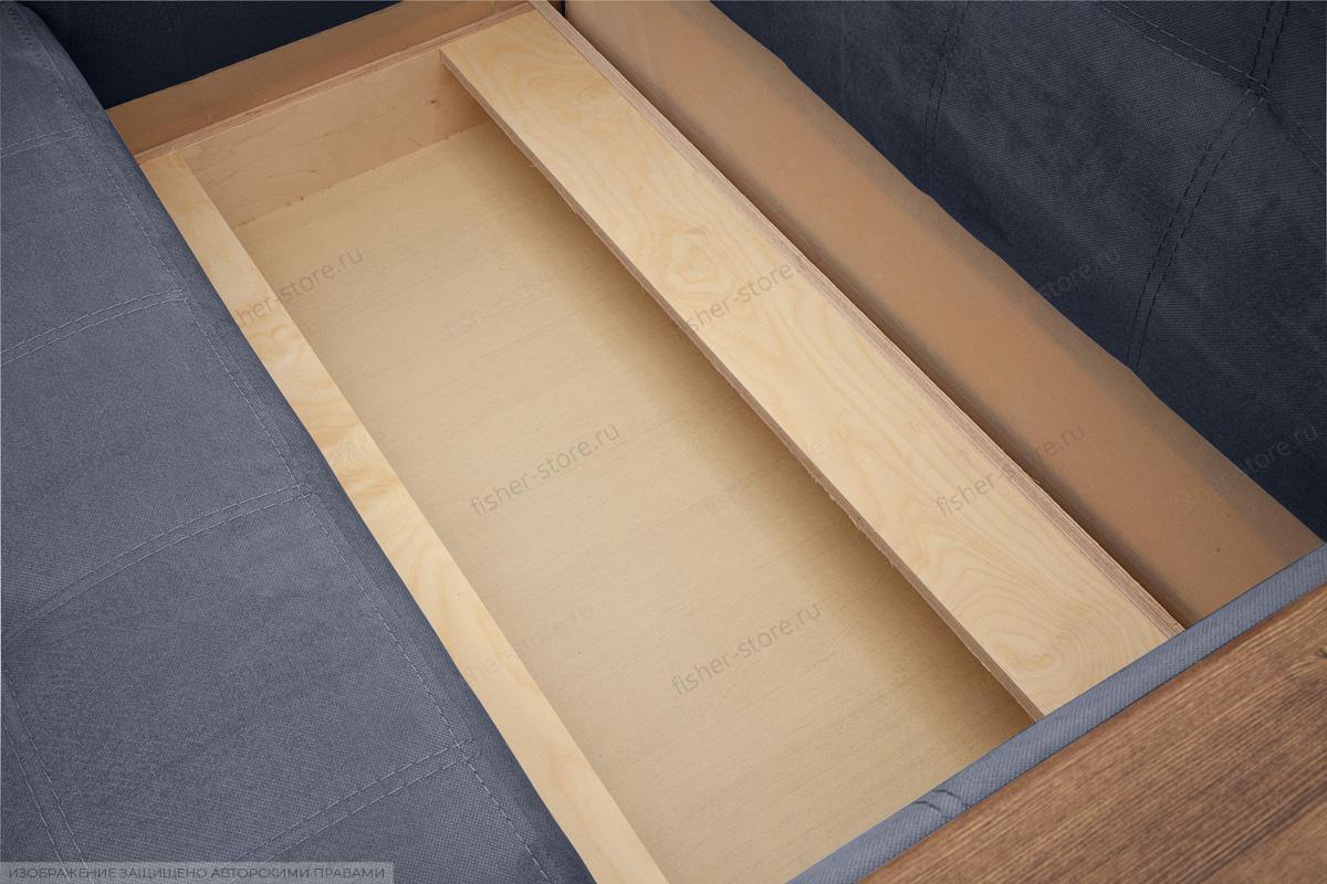 Прямой диван Этро люкс Amigo Navy Ящик для белья