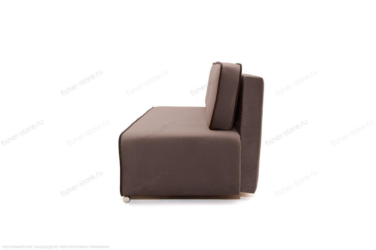 Прямой диван Лаки Amigo Chocolate Вид сбоку