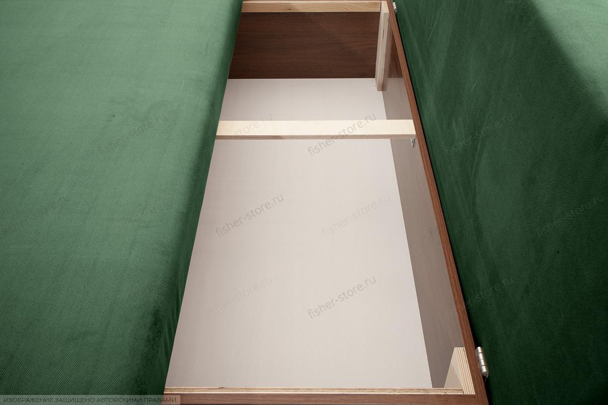 Прямой диван Лаки Amigo Green Ящик для белья