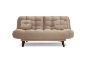 Прямой диван Остин Amigo Latte Вид спереди