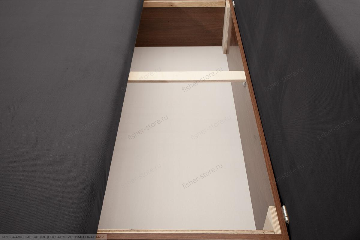 Двуспальный диван Лаки Amigo Grafit Ящик для белья