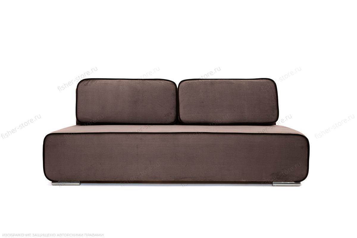 Прямой диван Лаки Amigo Chocolate Вид спереди