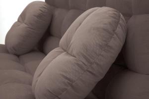 Прямой диван Остин Amigo Chocolate Подушки