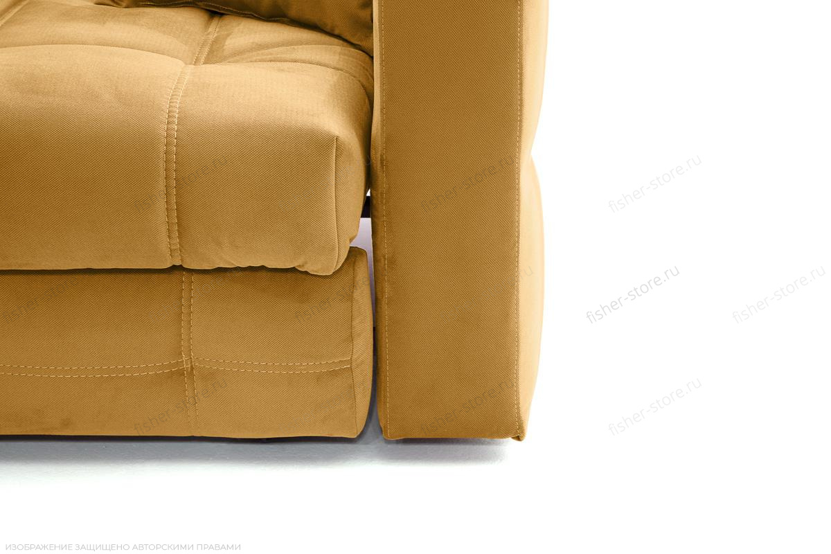 Двуспальный диван Ява Amigo Yellow Ножки
