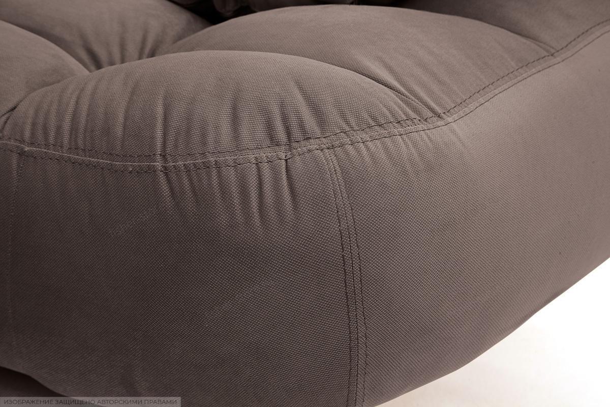 Прямой диван Остин Amigo Chocolate Текстура ткани