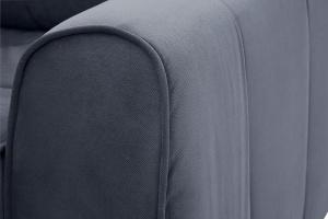 Прямой диван Кайман Amigo Navy Текстура ткани