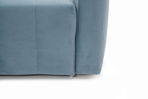 Прямой диван Мадлен Amigo Blue Ножки