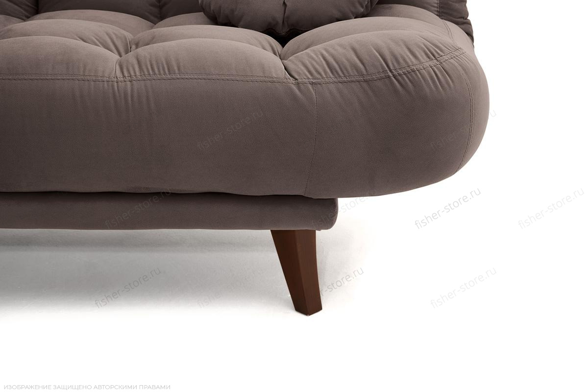 Прямой диван Остин Amigo Chocolate Ножки