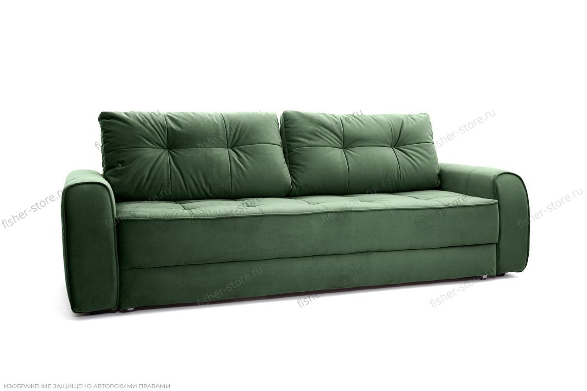 Двуспальный диван Кайман Amigo Green Вид по диагонали