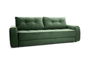 Прямой диван Кайман Amigo Green Вид по диагонали