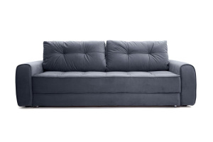 Прямой диван Кайман Amigo Navy Вид спереди