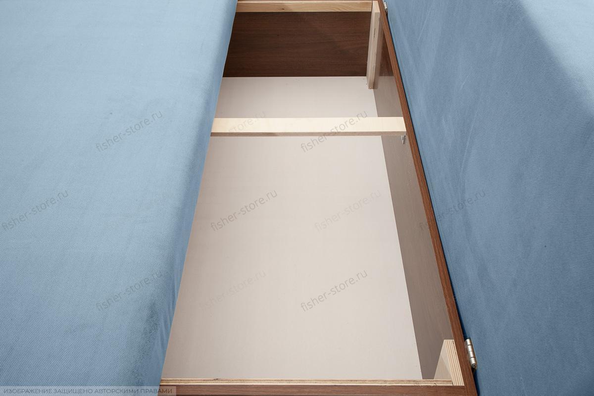 Прямой диван Лаки Amigo Blue Ящик для белья