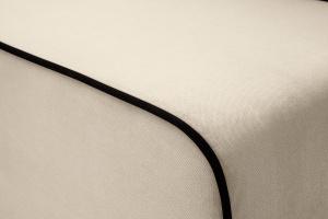 Прямой диван еврокнижка Лаки Amigo Bone Текстура ткани