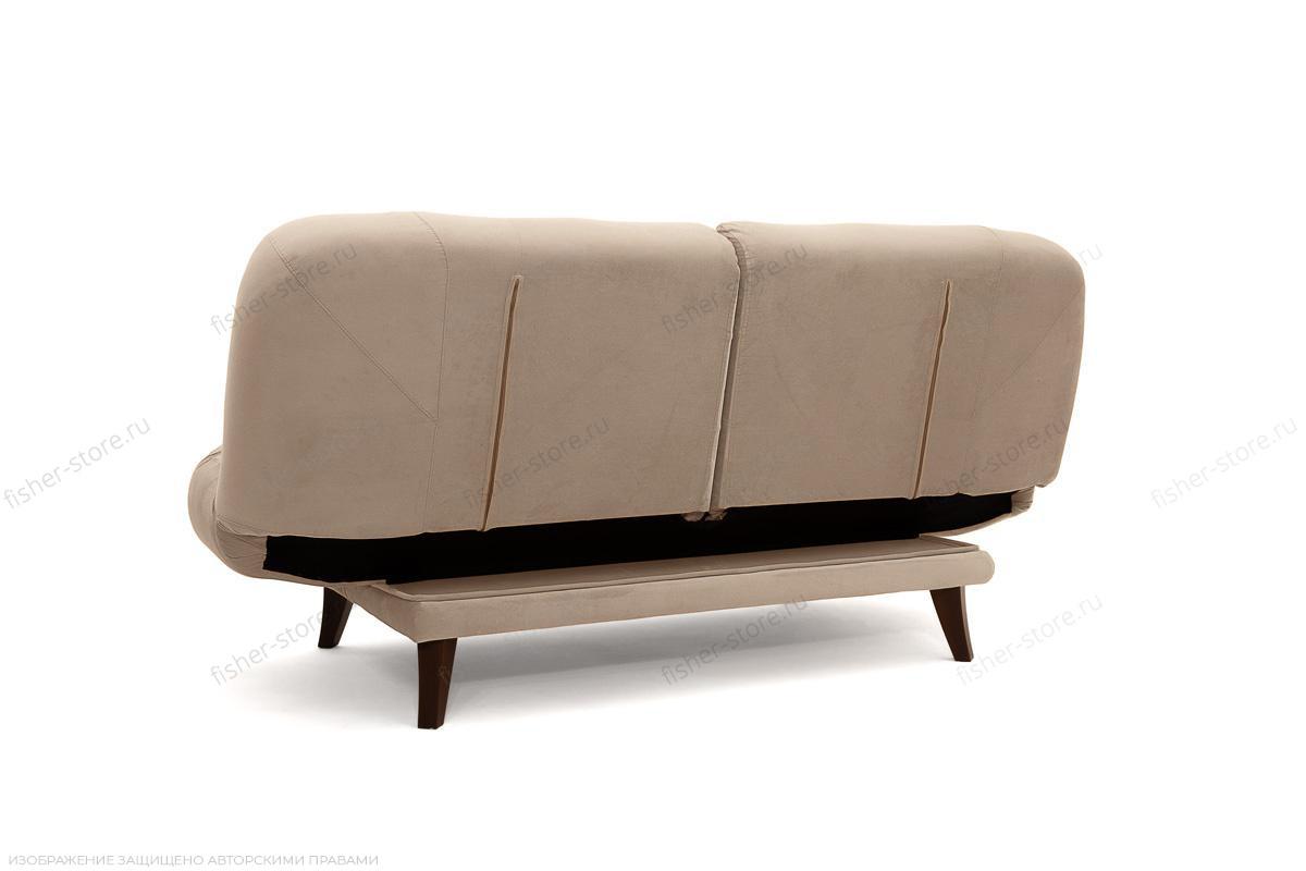 Прямой диван Остин Amigo Latte Вид сзади