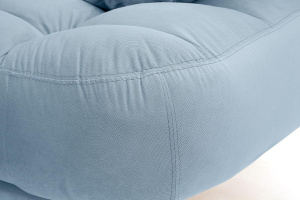 Двуспальный диван Остин Amigo Blue Текстура ткани