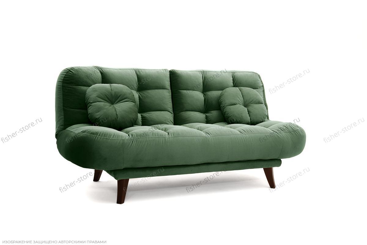 Прямой диван Остин Amigo Green Вид по диагонали