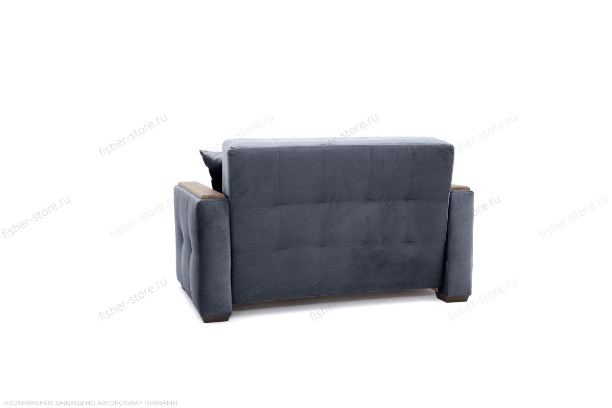 Прямой диван Этро люкс Amigo Navy Вид сзади