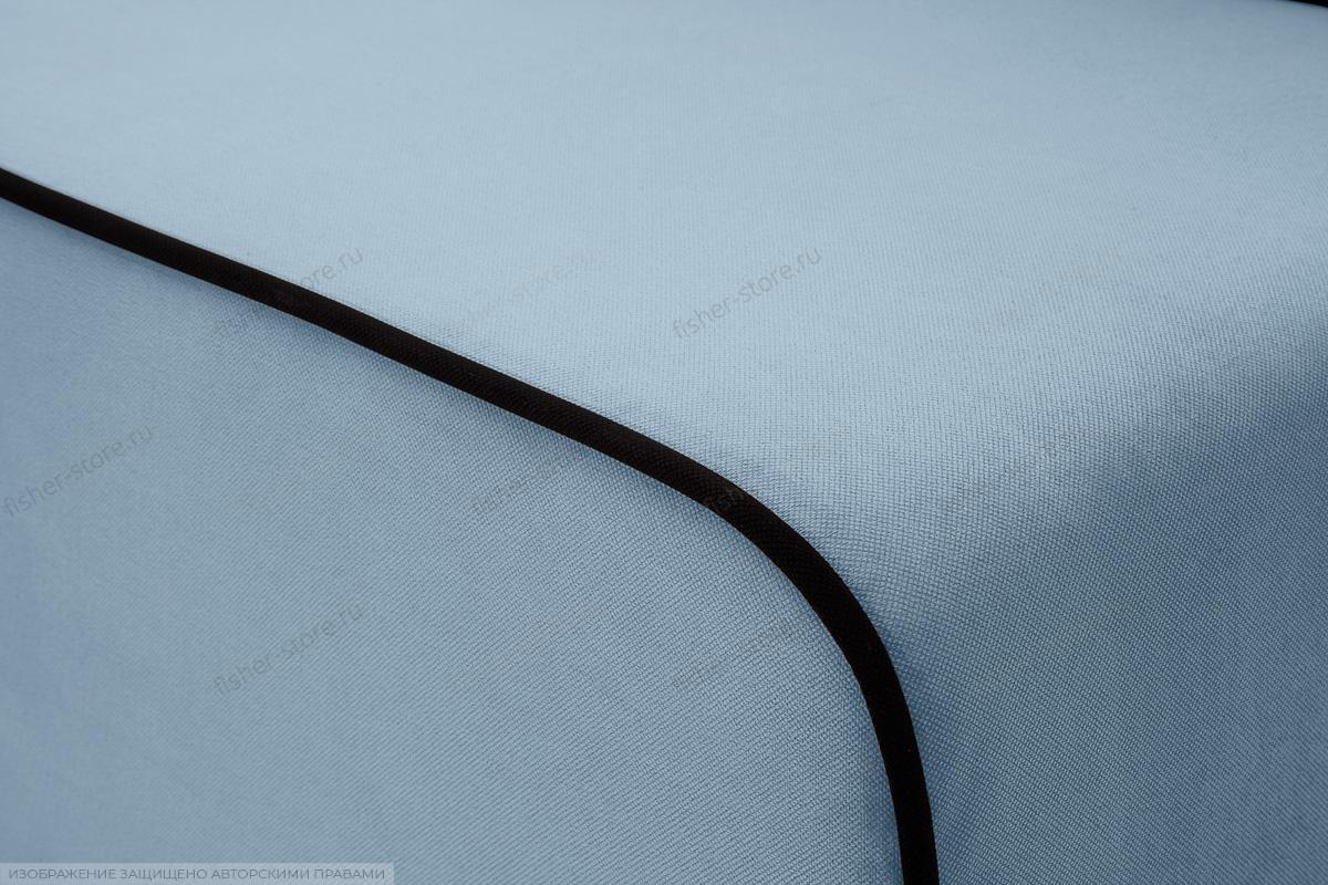 Прямой диван Лаки Amigo Blue Текстура ткани