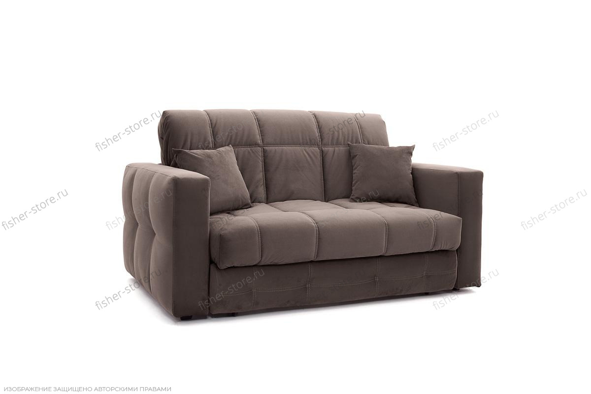 Прямой диван Ява Amigo Chocolate Вид по диагонали