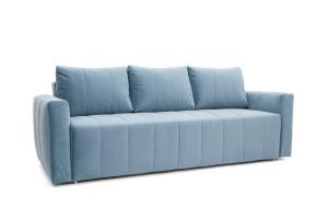Прямой диван Мадлен Amigo Blue Вид по диагонали