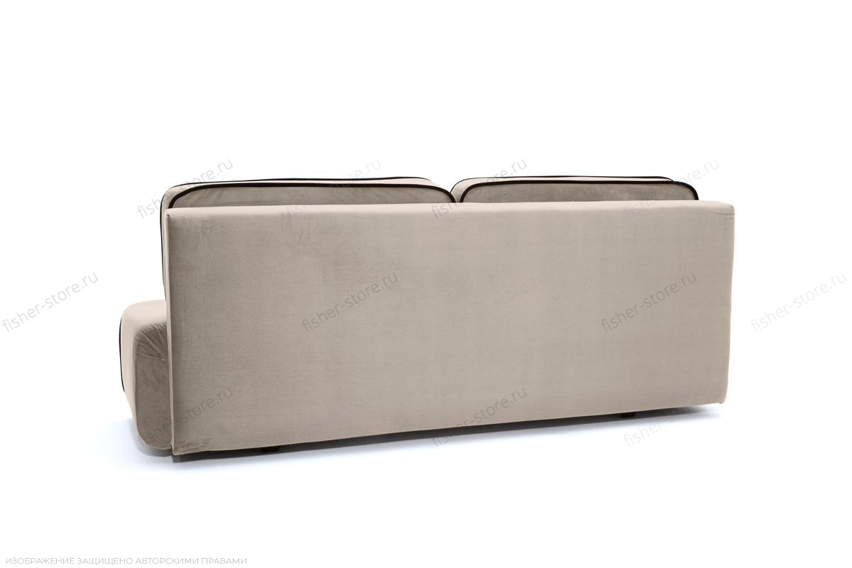 Прямой диван Лаки Amigo Cream Вид сзади