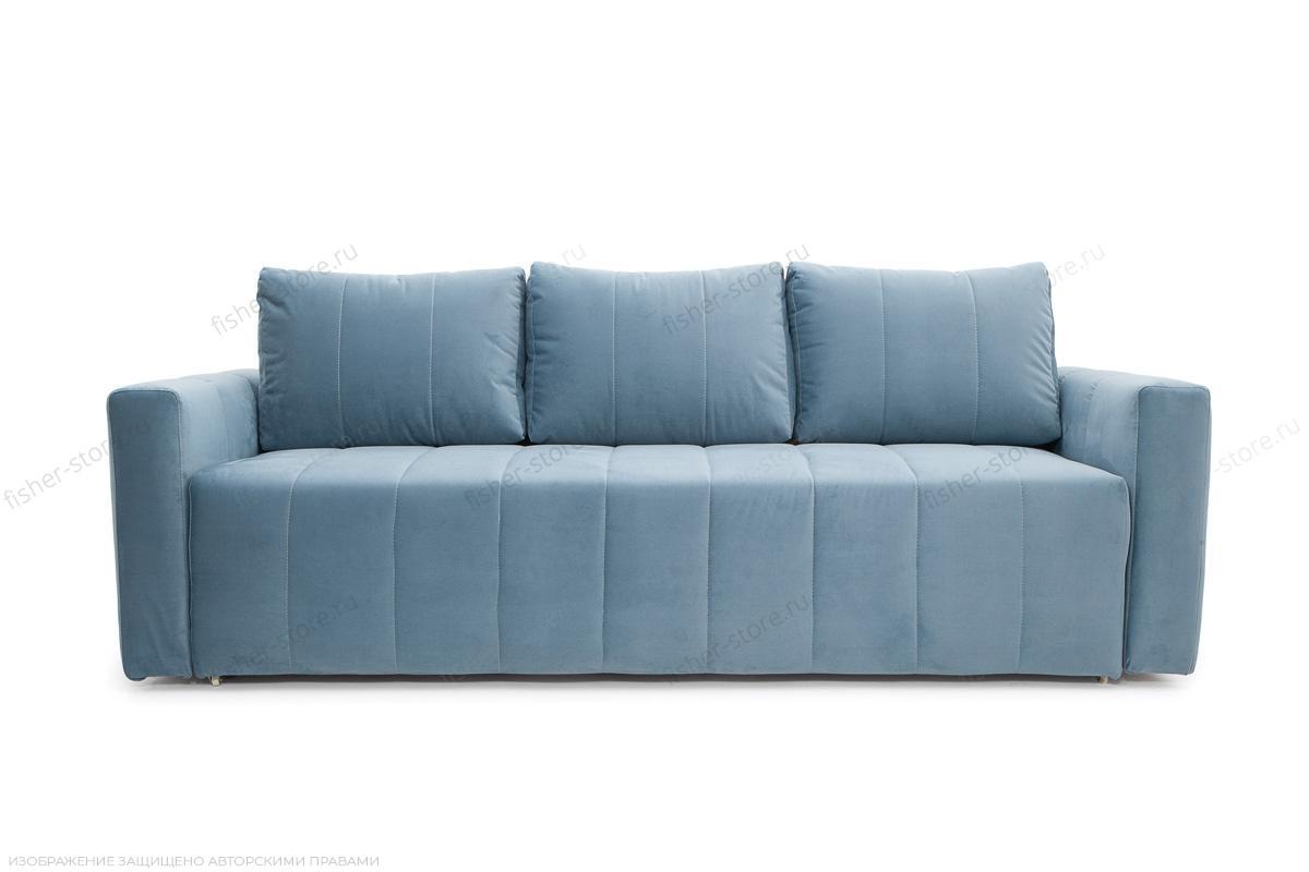 Прямой диван Мадлен Amigo Blue Вид спереди