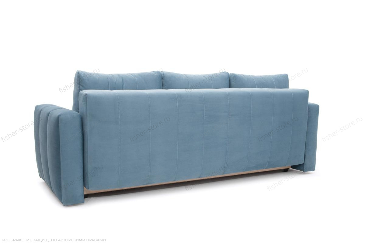 Прямой диван Мадлен Amigo Blue Вид сзади