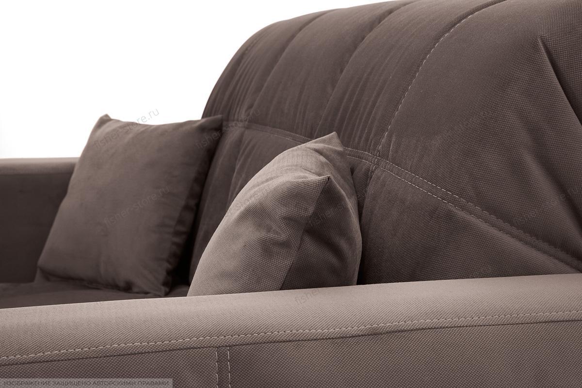 Прямой диван Ява Amigo Chocolate Подушки