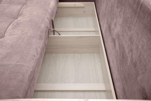 Прямой диван Кайман Amigo Java Ящик для белья