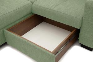 Угловой диван Меркурий-2 Orion Green Ящик для белья