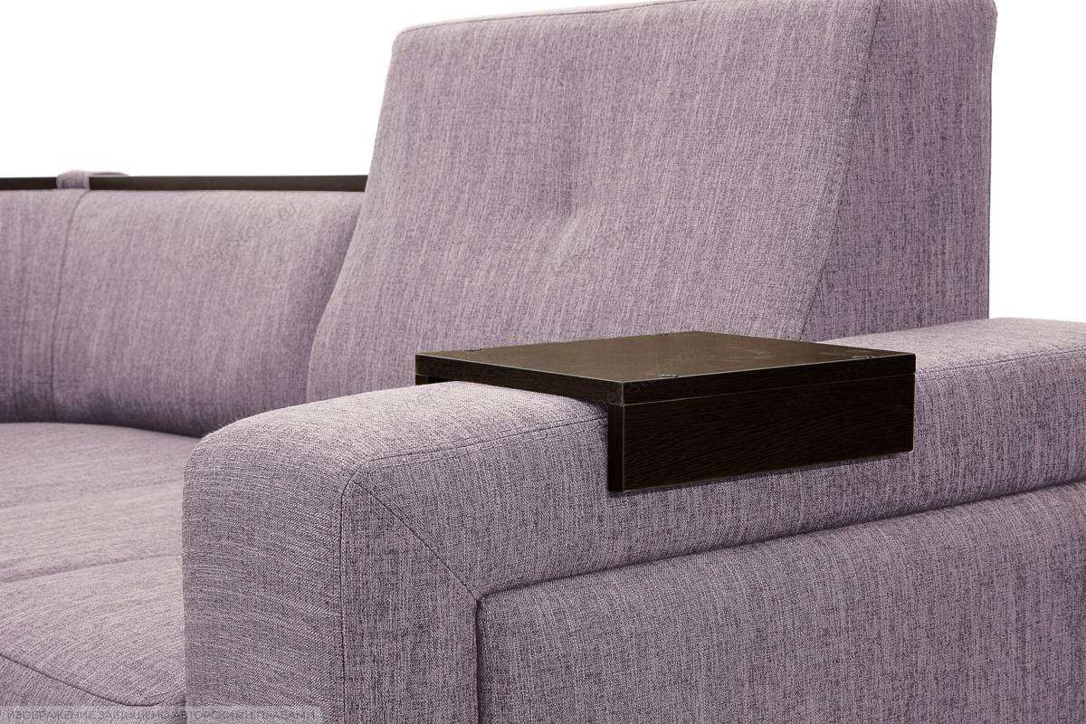 Двуспальный диван Меркурий-2 Orion Lilac Подлокотник