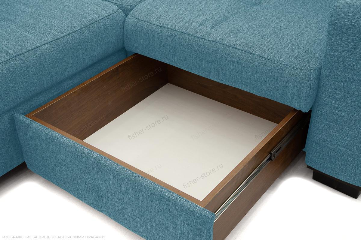 Угловой диван Меркурий-2 Orion Denim Ящик для белья