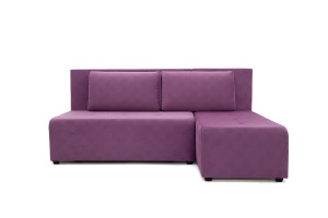 Угловой диван Сава Maserati Purple Вид спереди