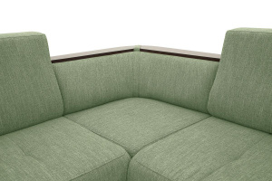 Угловой диван Меркурий-2 Orion Green Текстура ткани