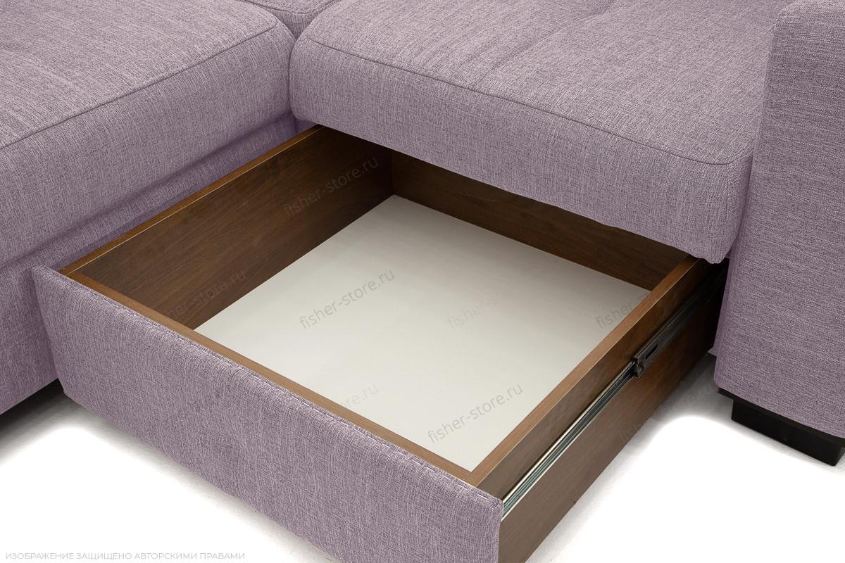 Двуспальный диван Меркурий-2 Orion Lilac Ящик для белья