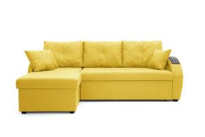 Угловой диван Мартин Dream Yellow Вид спереди