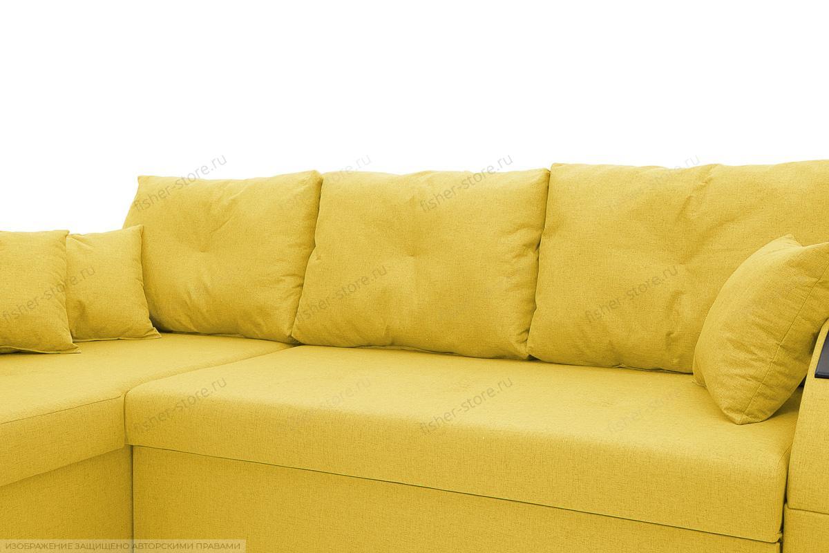 Угловой диван Мартин Dream Yellow Подушки