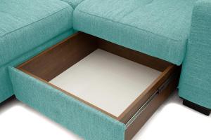 Угловой диван Меркурий-2 Orion Blue Ящик для белья