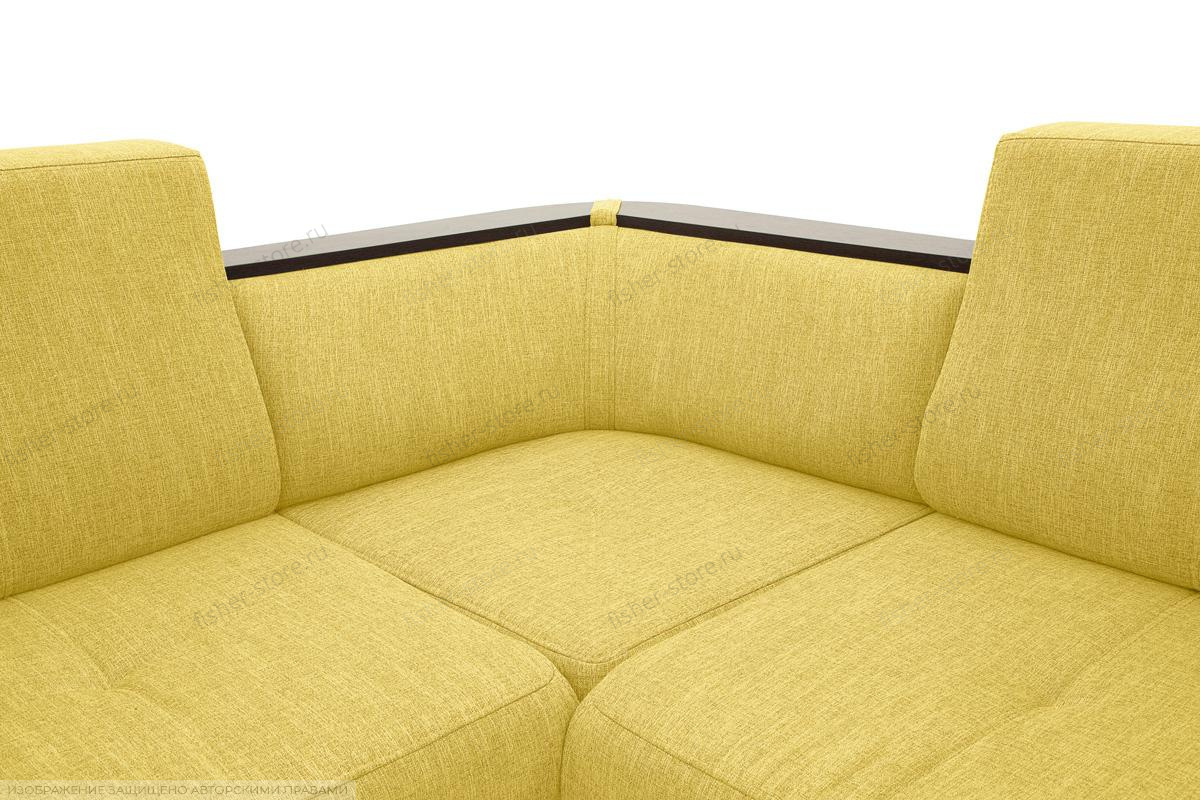 Двуспальный диван Меркурий-2 Orion Mustard Текстура ткани