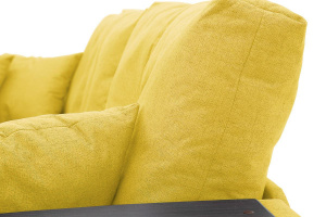 Угловой диван Мартин Dream Yellow Текстура ткани