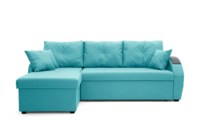Угловой диван Мартин Dream Azure Вид спереди