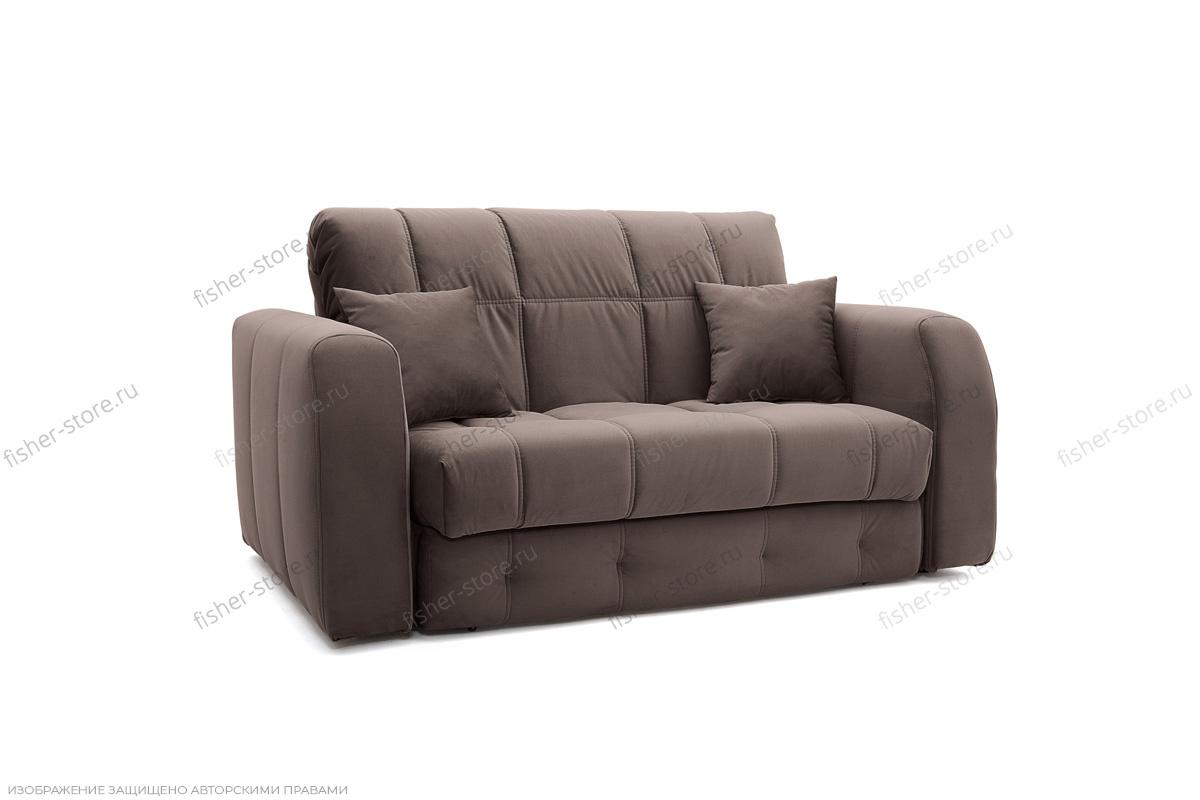 Прямой диван Ява-3 Amigo Chocolate Вид по диагонали