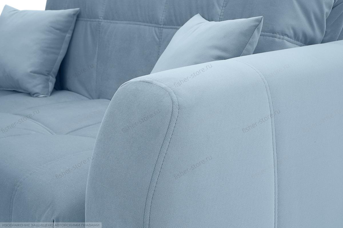 Прямой диван Ява-3 Amigo Blue Подлокотник