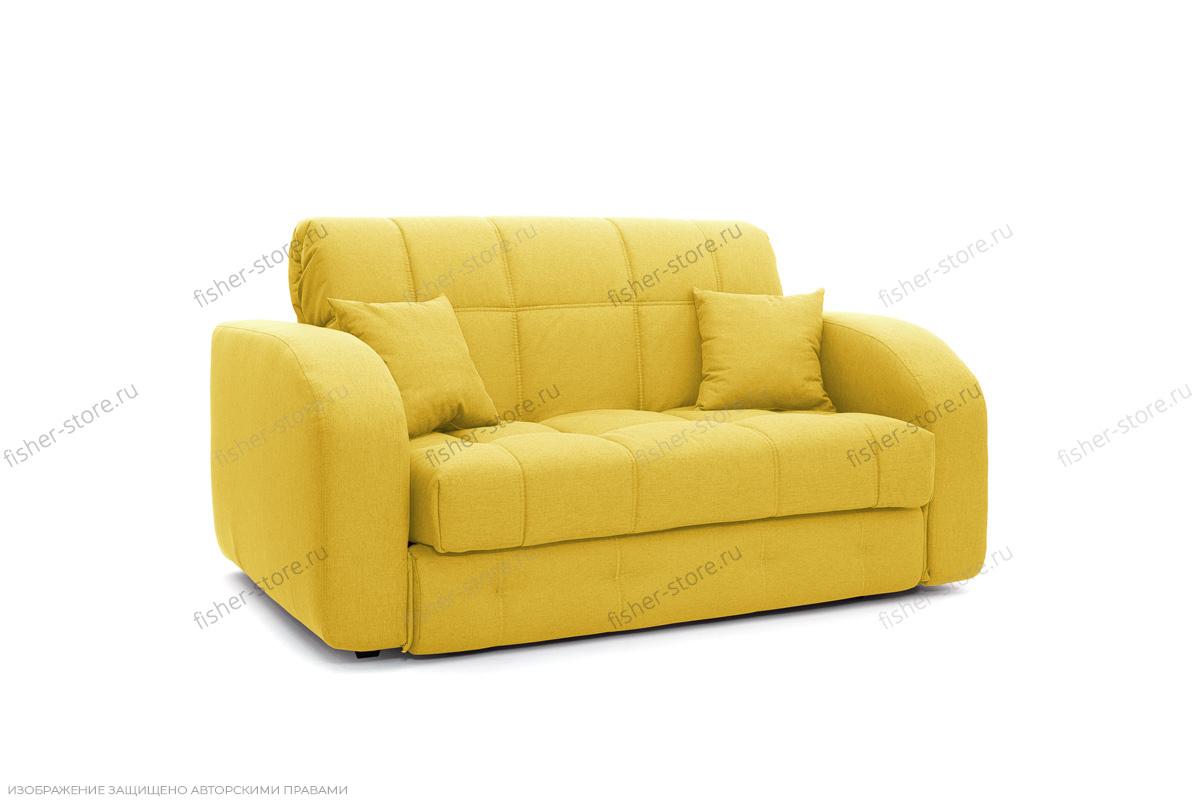 Прямой диван Ява-2 Dream Yellow Вид по диагонали