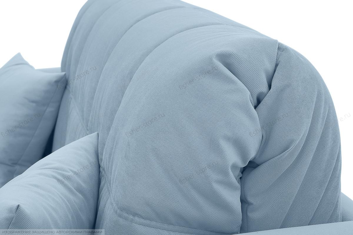 Прямой диван Ява-3 Amigo Blue Текстура ткани